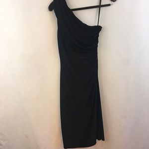 Lauren Ralph Lauren Faux Wrap Dress Size 6 Black